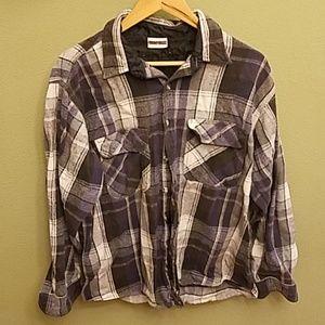 Field & stream heavy flannel shirt